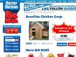 Bonofido Chicken Coop - $138 + Postage = Harvey Normans Next Big Deal! [Expired]