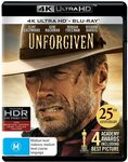 Unforgiven (4K Ultra HD + Blu-Ray) $10.00 + Shipping ($0 with Prime or $39 Spend) @ Amazon AU