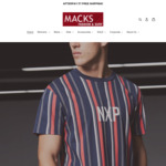 Free Shipping on All Orders @ Macks Fashion & Surf