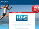 Free 14 Day Guest Pass at Fitness First