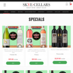 Bleasdale & Kirrihill Adelaide Hills Sauvignon Blanc Bundle at $99/Dozen (Worth $246) (Delivered) @ Skye Cellars