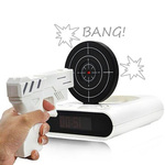Gun Shooting Alarm Clock - Wake up in Style with a Bang! $9.99 with $4.5 Shipping