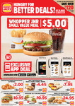 Hungry Jack's Vouchers (Valid until 14 September 2020)