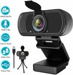 HD USB Webcam 1080P $74.98 Delivered @ Zi Qian via Amazon AU
