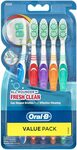 Oral-B All Rounder Fresh Clean Toothbrush Medium 5 Pack $6.25 ($5.63 S&S) + Delivery ($0 with Prime/ $39 Spend) @ Amazon AU