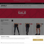 30% off Selected Styles @ 2XU