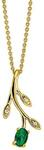 925 Sterling Silver Solid Opal GOLDEN WATTLE  Pendant $65 (Save $64) + $10 Delivery (Free over $100 Spend) @ Wellington Jeweller