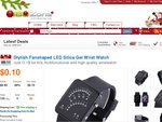 Limited Offer-LED Silica Gel Wrist Watch for Only $0.10 + Free Shipping