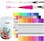 15% off Ohuhu Supplies - 60 Pack Dual Tip Art Markers $28.04 + Delivery ($0 with Prime/ $39 Spend) @ Ohuhu via Amazon AU