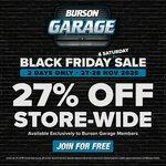 27% off Storewide @ Burson Auto Parts