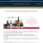 Win a Christmas Champagne Entertaining Pack Worth $720 from Emperor Champagne