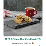 Free Choc Chip Cookie @ 7-Eleven via App