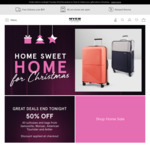 50% off Suitcases & Bags from Samsonite, Monsac, American Tourister & Antler @ Myer