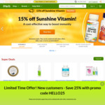 """25% off 1st Purchase for """"New Customers"""" @ iHerb.com"""