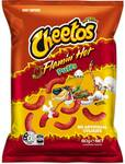 ½ Price Cheetos Flamin' Hot Puffs 80g $1 @ Woolworths