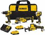 DeWALT DCK489D2 20V  Cordless Brushless 4-Tool Combo Kit  $461.14 + Delivery (Free with Prime) @ Amazon US via AU
