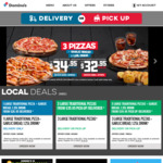 25% off Large Premium & Traditional Pizzas (+ Delivery or Pickup), 2 Sides $7.95 @ Domino's Pizza