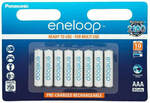 Panasonic Eneloop AAA Rechargeable NiMH Batteries 8-Pack $31.50 with Free Shipping @ TechLake