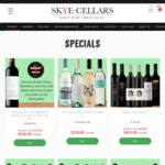 McLaren Vale Organic Shiraz at $12.80/Bottle ($76.80/6-Pack) (60% off RRP) Delivered @ Skye Cellars (Excludes Tasmania)