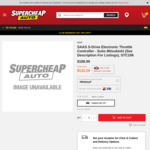 SAAS Throttle Controller for Mitsubishi $132.39 Delivered @ Supercheap Auto (Club Membership Required)