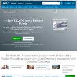 ANZ Rewards Platinum Credit Card - 120,000 Bonus Reward Points with $1,500 Spend in 3 Months, $0 Annual Fee First Year
