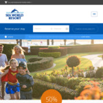 Save up to 50% on Accommodation (Includes Unlimited Entry to 4 Theme Parks) Priced From $199 @ SeaWorld Theme Park
