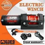 ZESUPER 3500lbs/1588kg Electric Winch 12V Synthetic Rope Wireless Remote ATV UTV $125.90 Delivered @ etoshaoz eBay