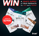 Win 2x $1450 Gift Cards (One for You and One for Your Friend) from True Protein