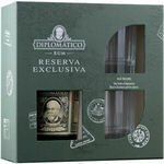 Diplomatico Rum Reserva Exclusiva Rum & Twin Glasses Gift Pack 700ml Bottle $74.69 Delivered @ Boozebud eBay