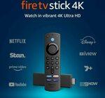 Amazon Fire TV Stick 4K $87.30, Fire TV Stick HD $71.09, Fire TV Stick Lite $53.09 Delivered @ Amazon AU