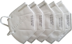Wellcare KN95 Dust Mask - 5 Pack $2 (Was $19) & Craftright KN95 Dust Respirator $0.40 ($0 C & C/+ Delivery) @ Bunnings