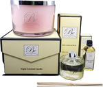 Luxury Triple Scented Candle, 100ml Essential Oil & 200ml Diffuser $169.99 Free Delivery @ Be Enlightened