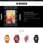 Bonus Limited Edition Watch with Your Order @ G-Shock