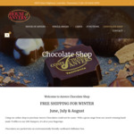 Free Delivery on Chocolates, Fudges & Truffles @ House of Anvers Tasmania