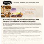 Win a Health & Wellness Trip to Auckland for 2 Worth Over $3,500 from Comvita