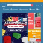 Free Shipping (Min $50 Spend) @ Archive Boxes Australia