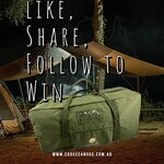 Win a Large Canvas Duffle Bag from Cooee Canvas