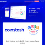 Win $1,000 Worth of Cryptocurrency from Coinstash.com.au
