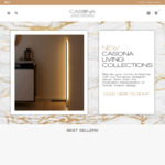 5% off Storewide LED Lights, Lamps, Vases, Tableware & More + $9.99 Delivery ($0 with $70 Order) @ Casona Living