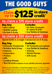 The Good Guys Claim (up to) $125 in Store Credit until July 8, Various Products