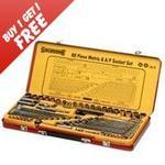 Sidchrome 60 Piece Dr Socket & Tool Set - BUY 1 GET 1 FREE, 2 for $175 + Postage ($15)