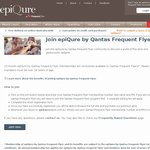 Complimentary Membership to Qantas Frequent Flyer Epicure Wine Club - Normally $99