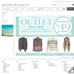 Sportscraft - Nothing over $49 at Their Online Outlet