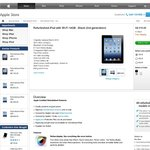 Refurbished iPad 3 Wi-Fi 16GB/32GB/64GB for $419/ $509/ $605 with Free Shipping from Apple Store
