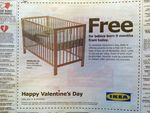 Free Baby Cot from IKEA if Your Baby Is Born Exactly 9 Months from Today WA & SA Only. Get Busy!
