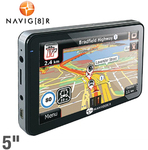 Navig8r T50B 12.7cm (5'') Widescreen GPS. Fresh Map Guarantee $86.94 + $7.95 for Shipping