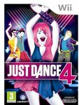 NEW Nintendo Wii JUST DANCE 4 Game Just $39.95 + $9.95 Shipping
