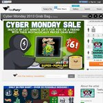 Cyber Monday Random T-Shirt - $6US Plus Shipping from TeeFury.com