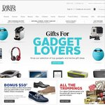 David Jones Spend $200 on Beauty or Perfume, Get a $20 Gift Card