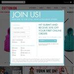 CottonOn Group - 30% off Full Priced Merchandise